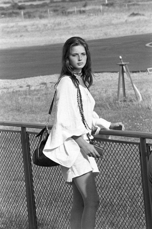 Isabella som ung på 60-talet.