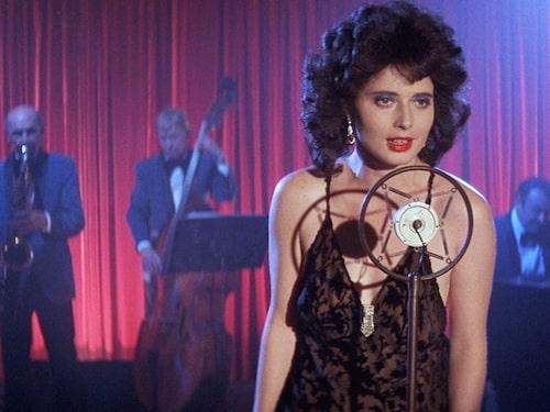 """Isabella Rossellini i filmen """"Blue Velvet""""."""
