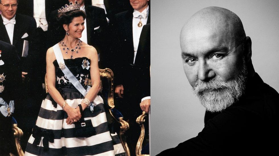 Drottningens Nobel-look 1993, frisyr skapad av Peter Hägelstam.