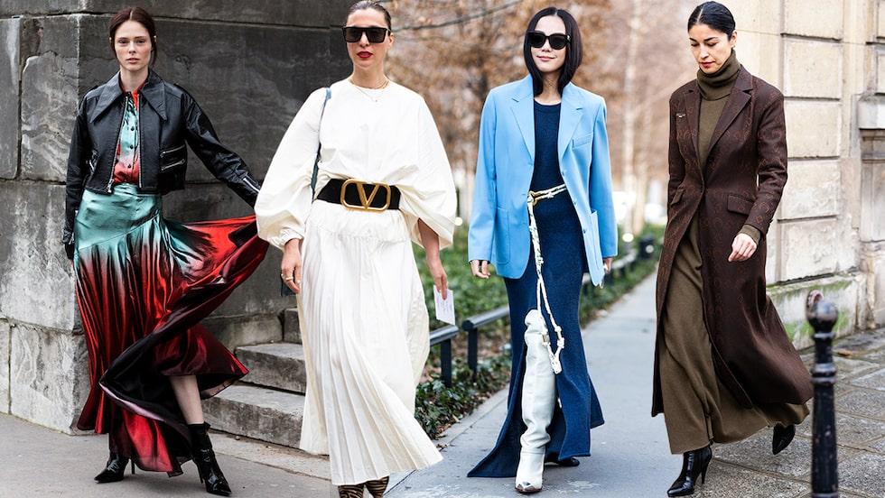 Vårmode 2021: så bär du maxiklänningen/långklänningen.