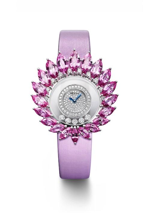 Chopards klocka med dansande diamanter