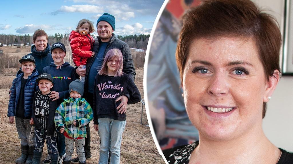 """93 procent av Emma Schols kropp brännskadades. """"Ärren står för min kärlek till barnen."""""""