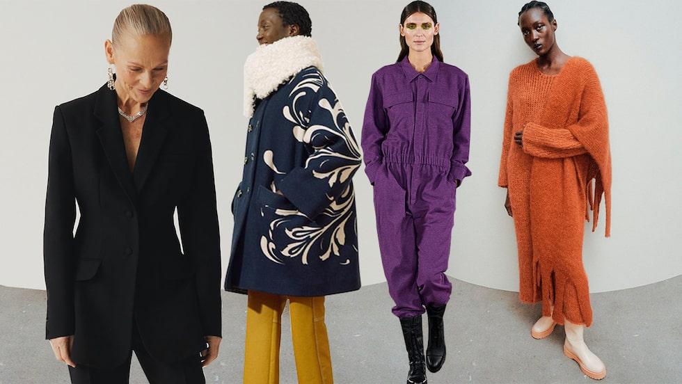 Höstmode 2021 från Stockholm- och Copenhagen Fashion Week.