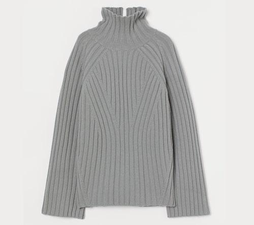 Polotröja i ull från H&M.