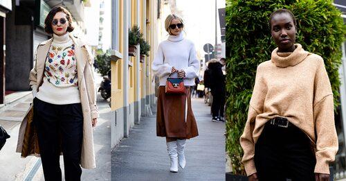 Till jeansen, kjolen eller under kappan - hur bär du din polotröja i vinter?