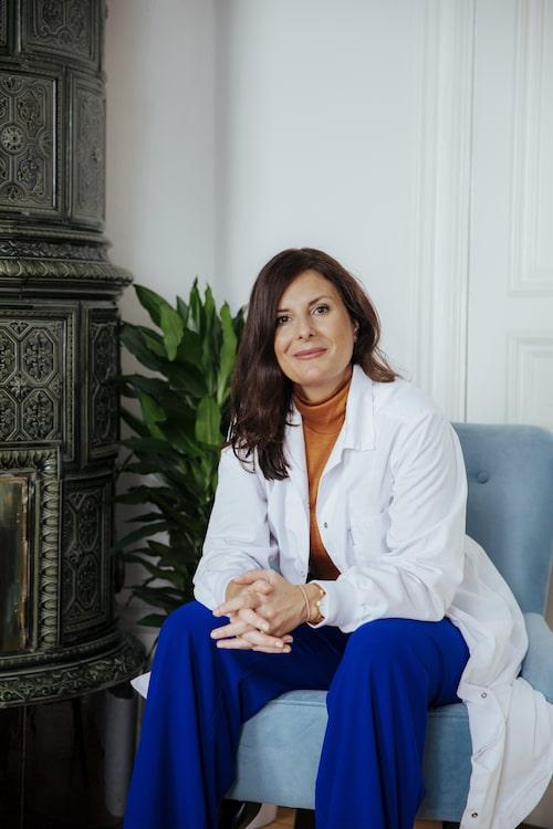 Hudforskaren Johanna Gillbro är hjärnan bakom nya hudvårdskonceptet Skinome Project.