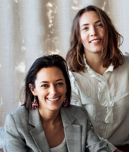 Estelle Joubert Westling och Thérèse Mannheimer är grundarna bakon health-techbolaget Grace Health.
