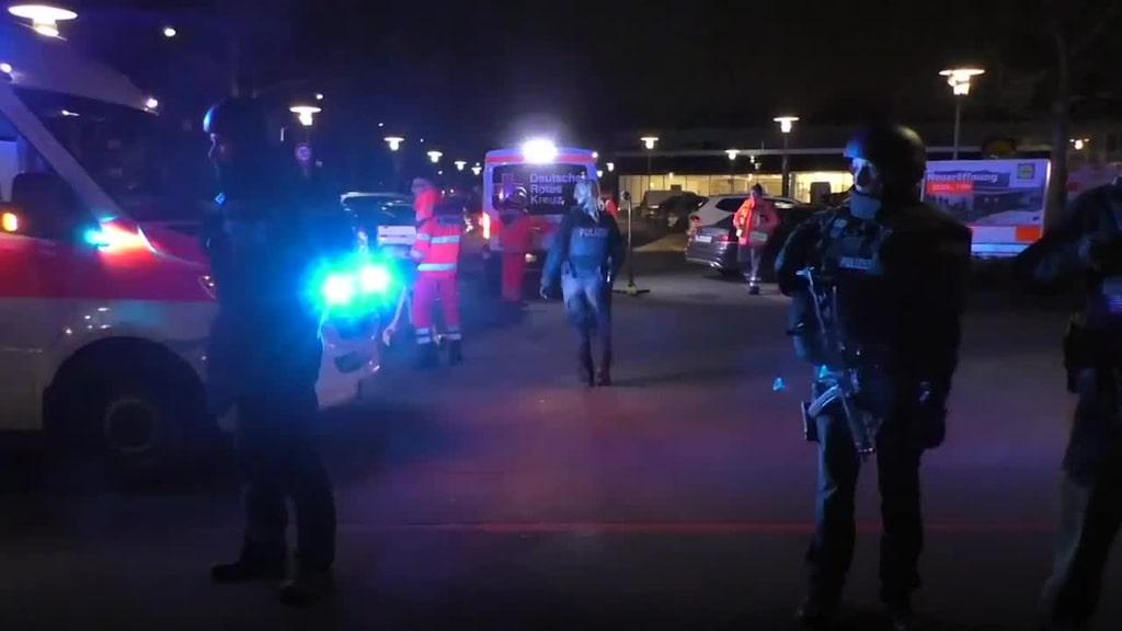 Flera personer döda i skjutning i Hanau i Tyskland