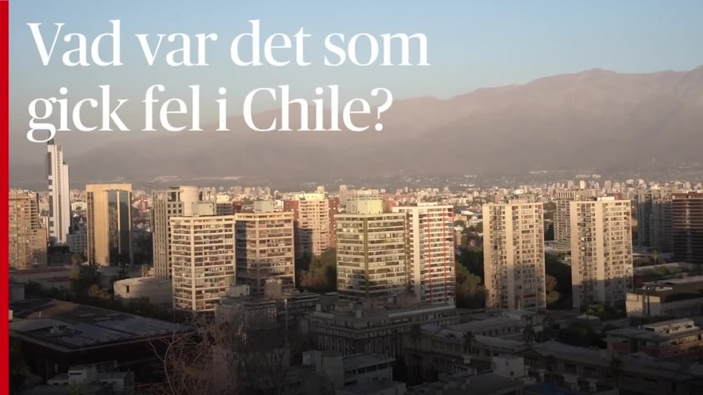 Höginkomstlandet Chile kokar av missnöje