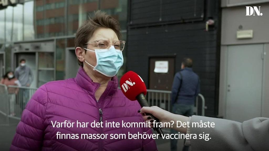 Lediga vaccintider lockar stockholmare till Kista – men obokade försök stoppas
