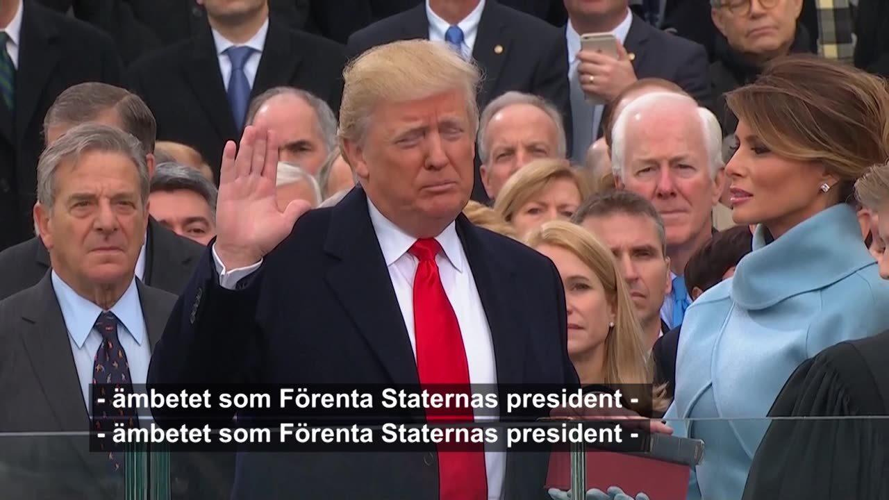 Trump svar eden