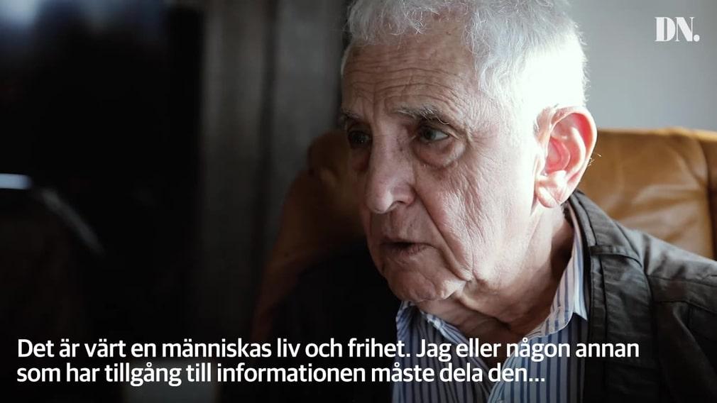 aa1b5962f02 Daniel Ellsberg läckte hemliga regeringsdokument – riskerade 115 års  fängelse