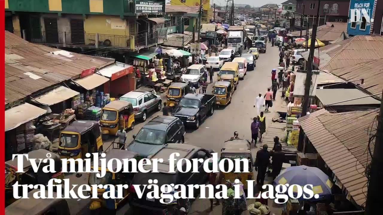 På valdagen förbjuds all trafik i hela Nigeria