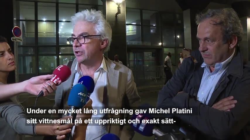 Michel Platinis advokat: Mycket väsen för ingenting