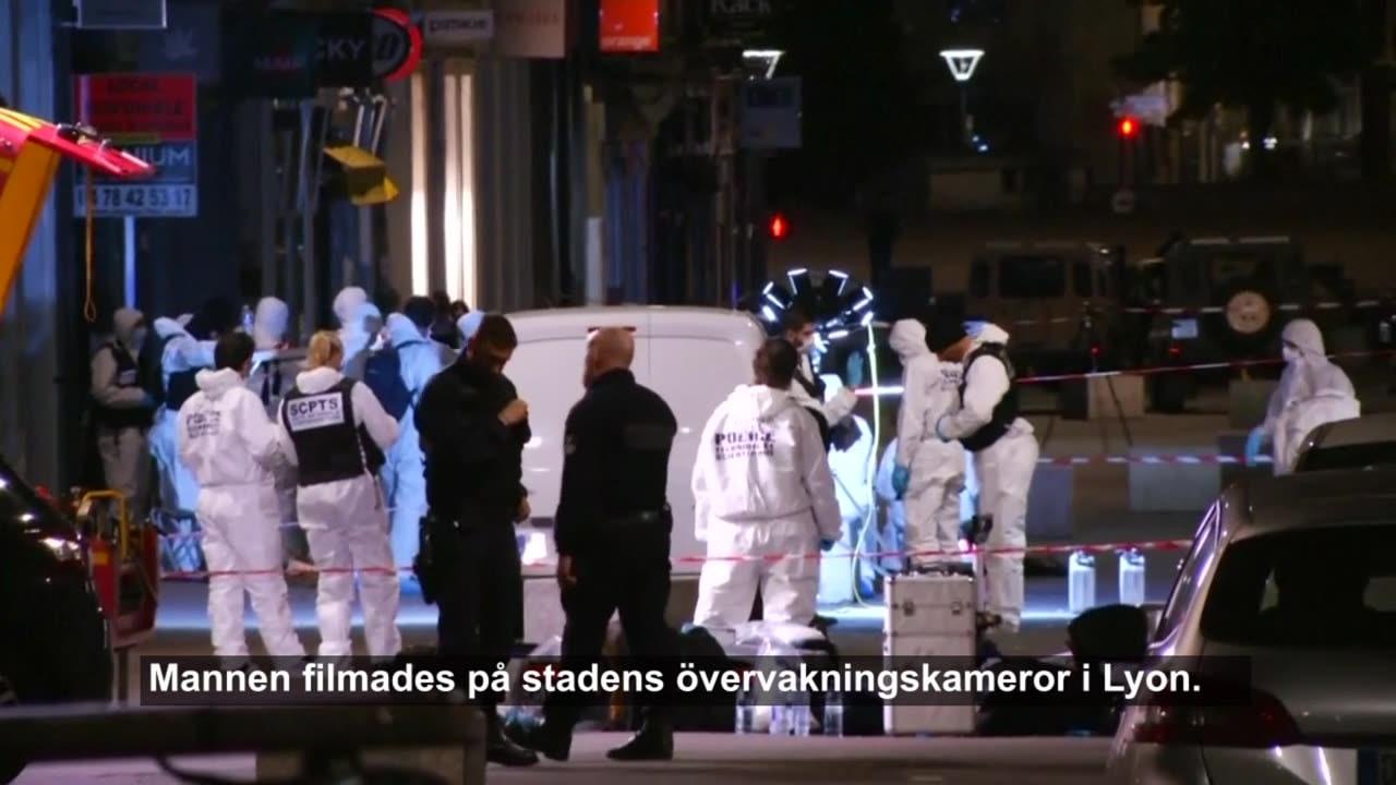 Polisen vill ha allmänhetens hjälp att hitta attentatsmannen i Lyon