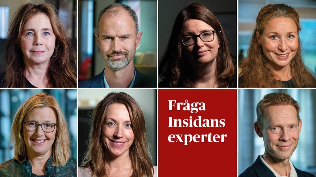 Premiär: Insidans nya, stora expertpanel svarar på dina frågor