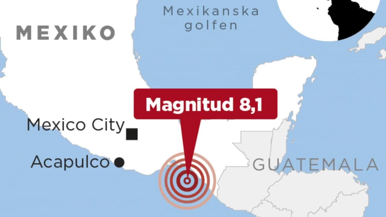 Kraftig jordbavning i mexiko 3
