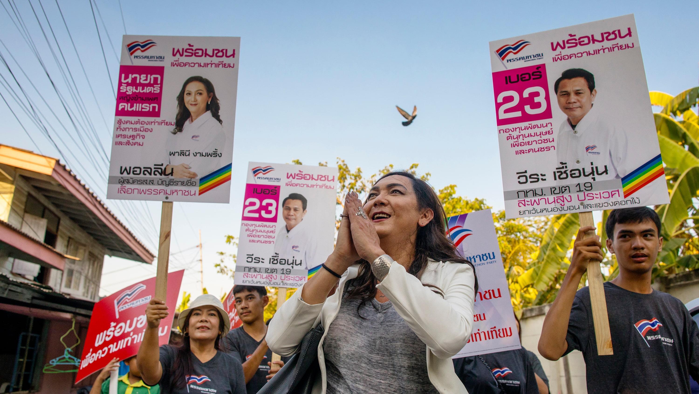 Transsexuella Pauline ställer upp i thailändska valet