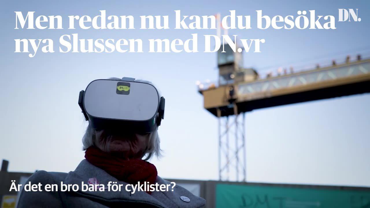 Stockholmare ser nya Slussen i VR – så tycker de