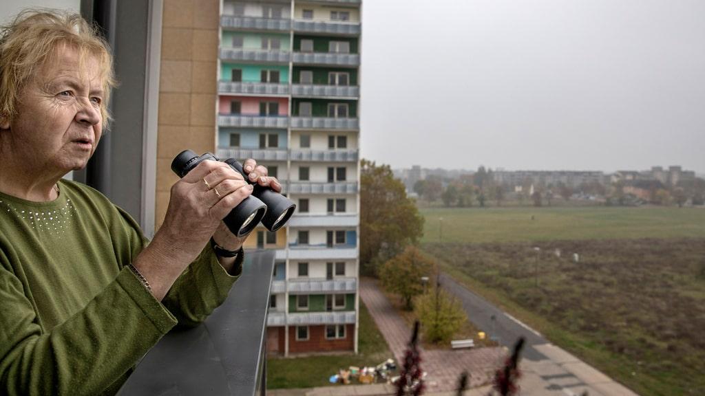 Östtysk mönsterstad rivs kvarter för kvarter