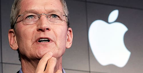 Apples vd Tim Cook.