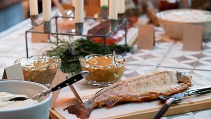 Livsmedelsföretagen presenterar årligen de hetaste julbordstrenderna i Sverige.