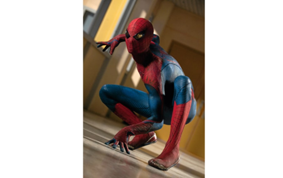 "Andrew Garfield i ""The amazing Spiderman"".."