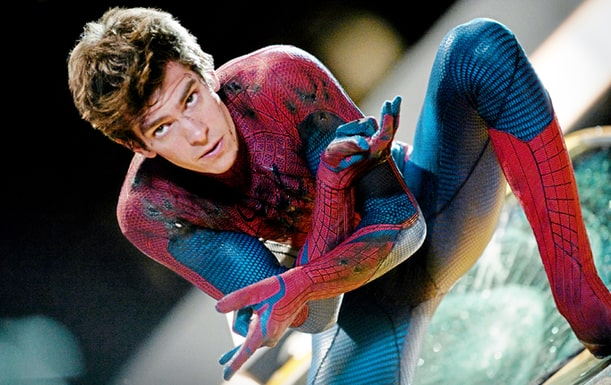 Andrew Garfield i rollen som Spiderman.