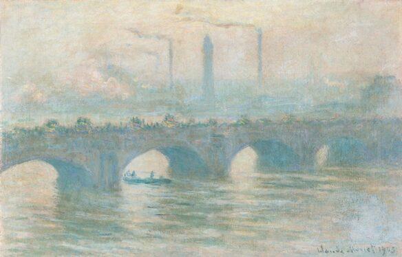 """Claude Monets """"Waterloo Bridge"""" 1903."""