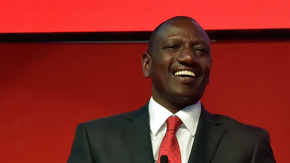 Kenyas vicepresident William Ruto. Arkivbild.