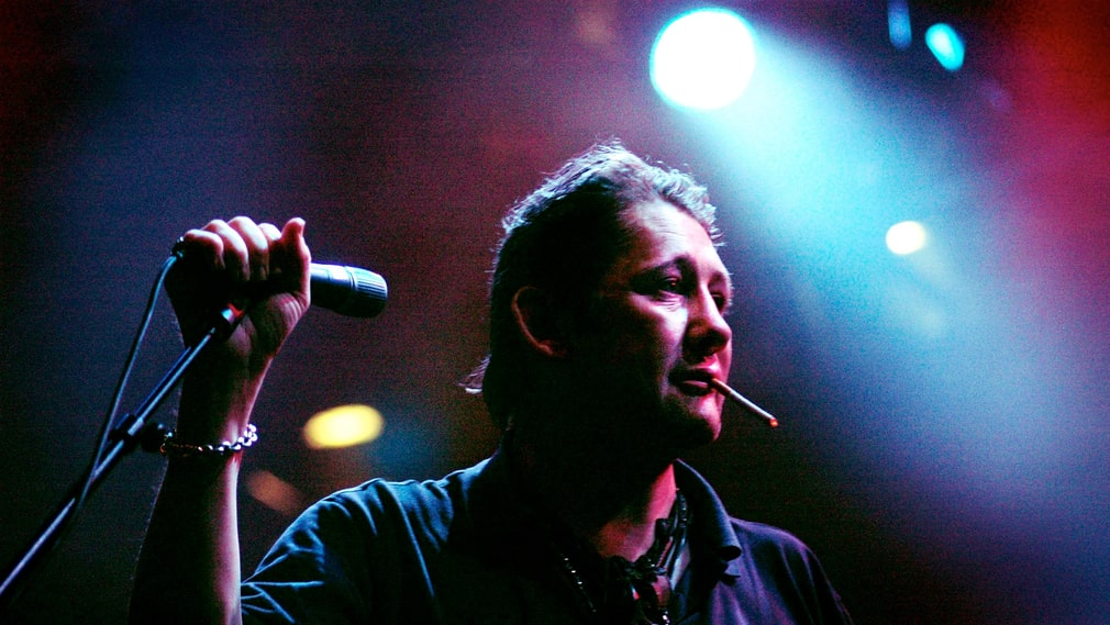 The Pogues frontman Shane Macgowan.