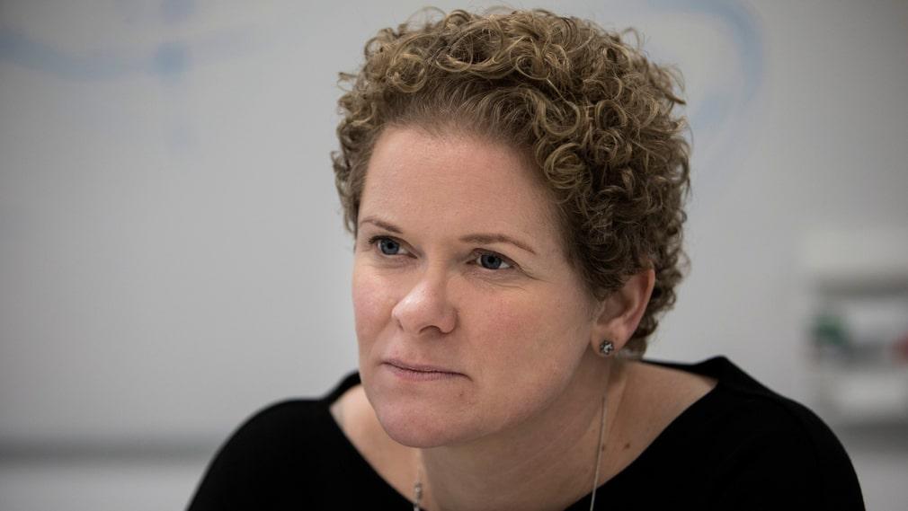 Oppositionsborgarrådet Karin Wanngård (S) är kritisk mot det grönblå styrets budget för 2020.