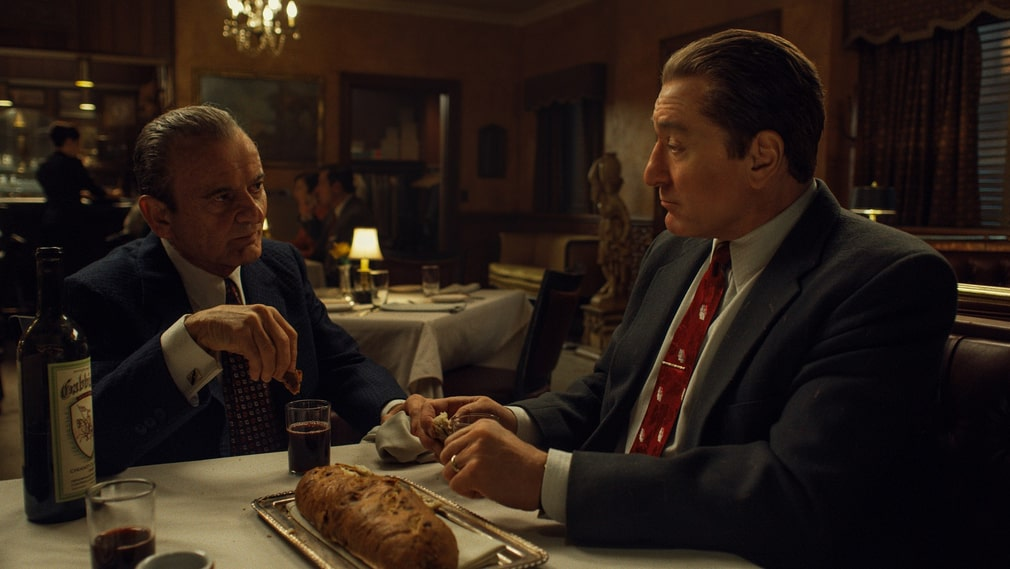 "Joe Pesci och Robert De Niro i ""The Irishman"""