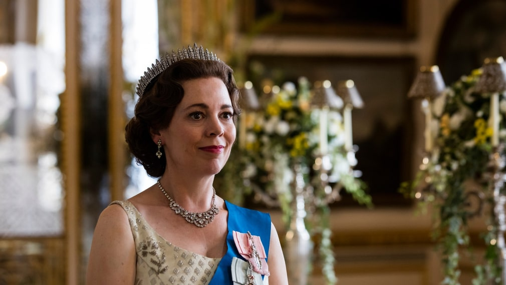 "Olivia Colman som Elizabeth II i ""The Crown""."