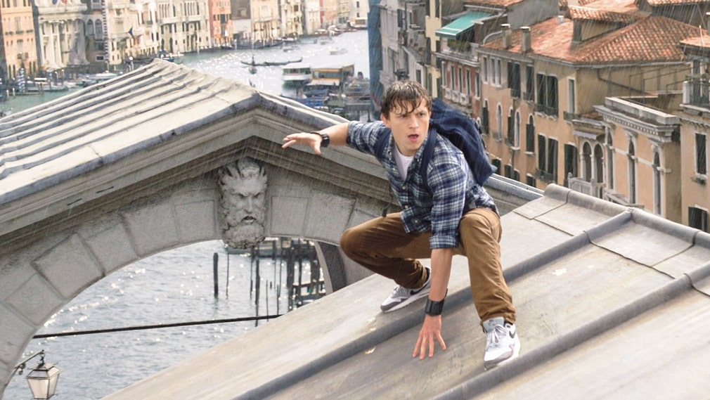 Tom Holland som Peter Parker.