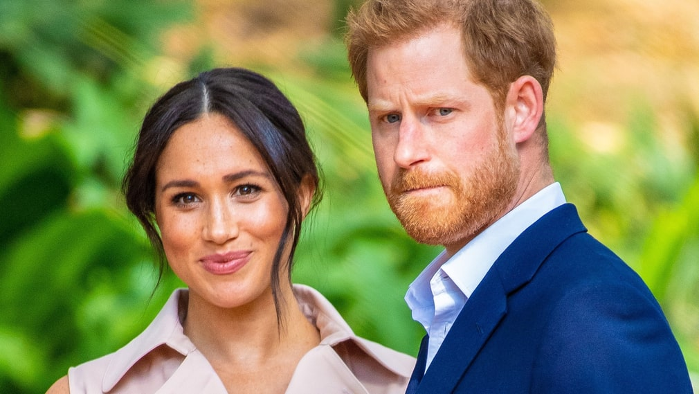 Prince Harry och Meghan Markle.