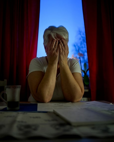 Maj-Britt, 67, was tricked into investing 1.3 million SEK – mostly money she didn't even have. The fraudsters took out loans in her name.