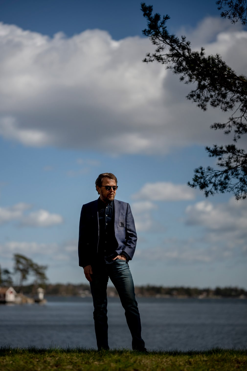 The world famous Abba Swede is staying on his island, isolated because of the pandemic.