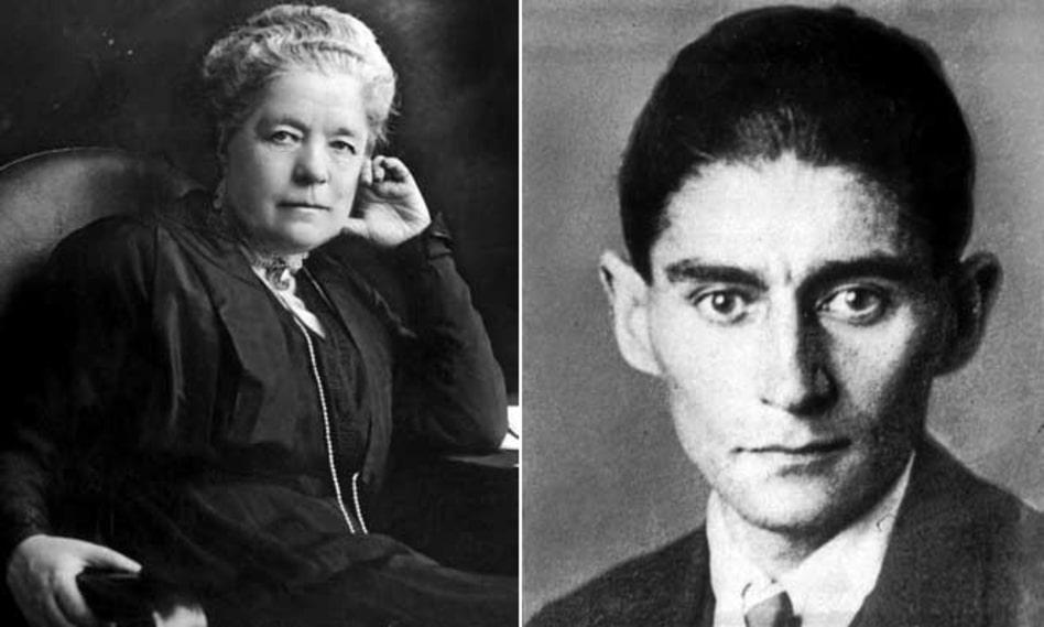 """Selma Lagerlöf ur Gösta Berlings saga: """"Äntligen stod prästen i predikstolen. Franz Kafka ur Processen: """"Någon hade förtalat Josef K., ty utan att ha gjort något ont häktades han en morgon."""