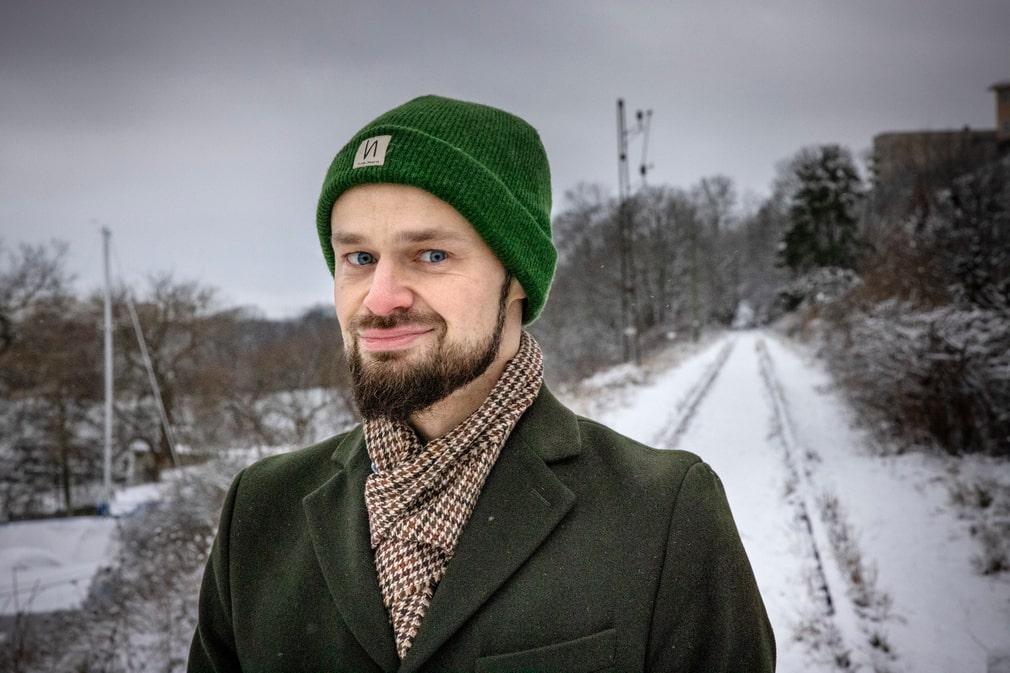 Södermalmspolitikern Lars Rottem Krangnes.
