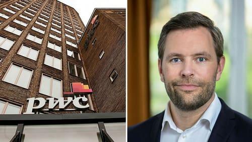 Viktor Lindroth, ansvarig för hållbara finanser på PWC Sverige.