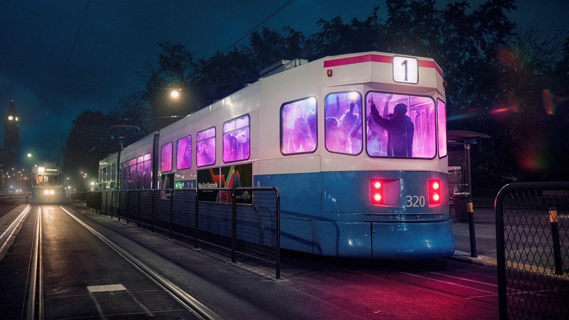Västtrafik firar kollektivtrafikens återkomst med Way out west