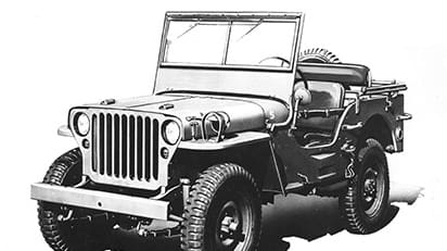 Willys MB, 1941.