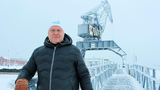 """""""Vi kommer vara en leverantör till batteriindustrin, inte en konkurrent"""", säger Anders Granberg, styrelseledamot i Talga."""