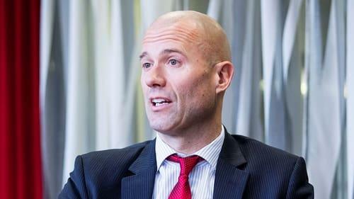 John Hernander, investeringschef på Nordea Fonder och ansvarig för aktieportföljer värda drygt 90 miljarder kronor.