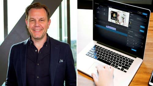 Fredrik Fagerlunds Qbricks plattform används av bland andra Sandvik, Handelsbanken och Regeringskansliet. Men bolaget satsat också mycket på livevideoshopping.