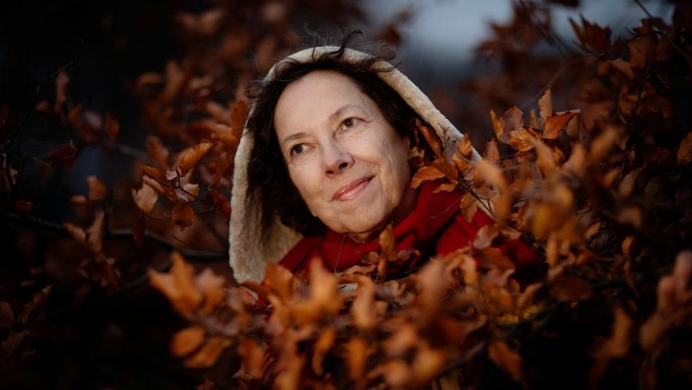 """""""Jag är inte särskilt rädd av mig. Jag är till exempel inte rädd för att vara ensam"""", säger Nina Burton."""
