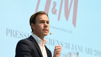 H&M:s vd Karl-Johan Persson.
