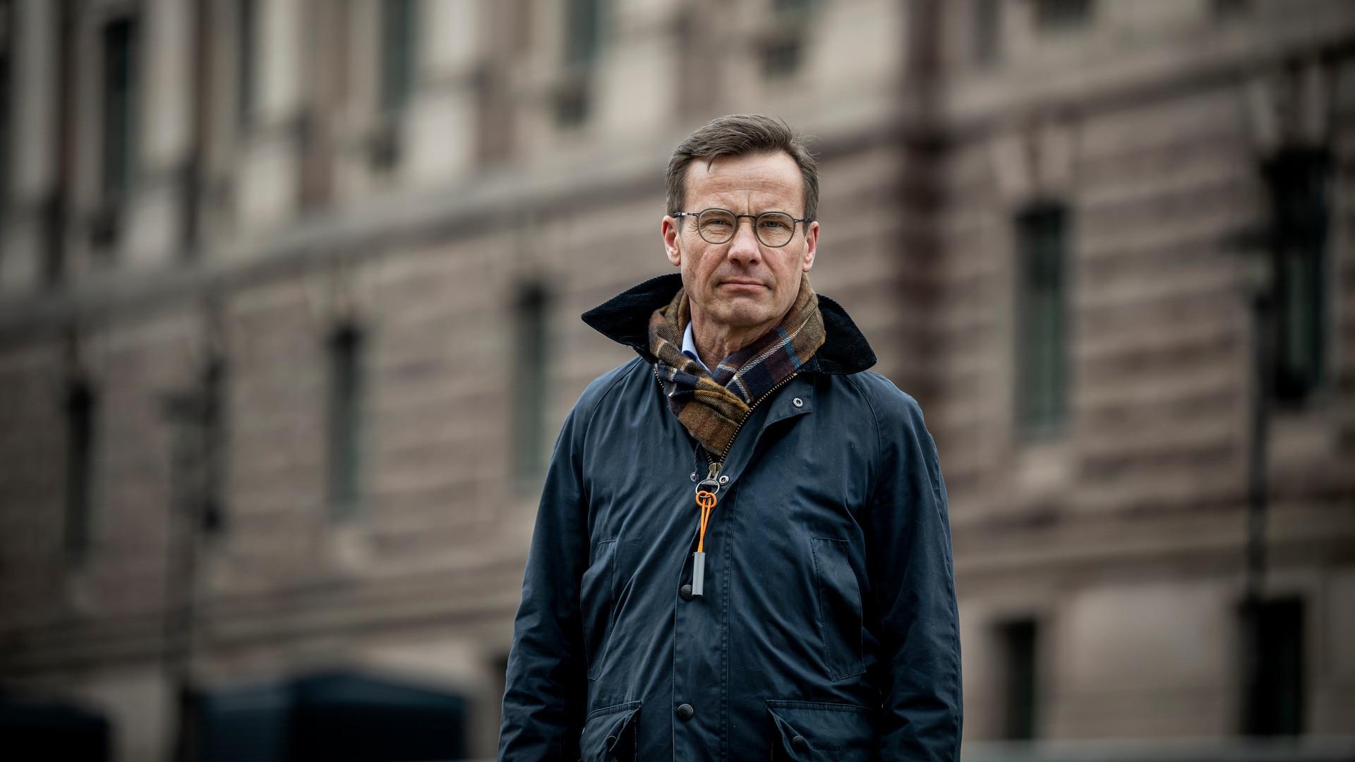 Moderaternas partiledare Ulf Kristersson, tidigare ordförande för Adoptionscentrum.