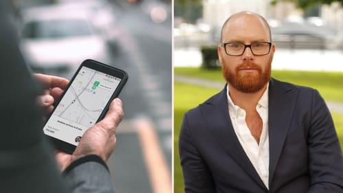 Appen Bolt gick tidigare under namnet Taxify. Sverigechef för bolaget är Nils Wijkmark.